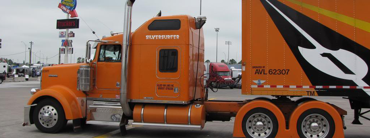 Allied Truck at truckstop